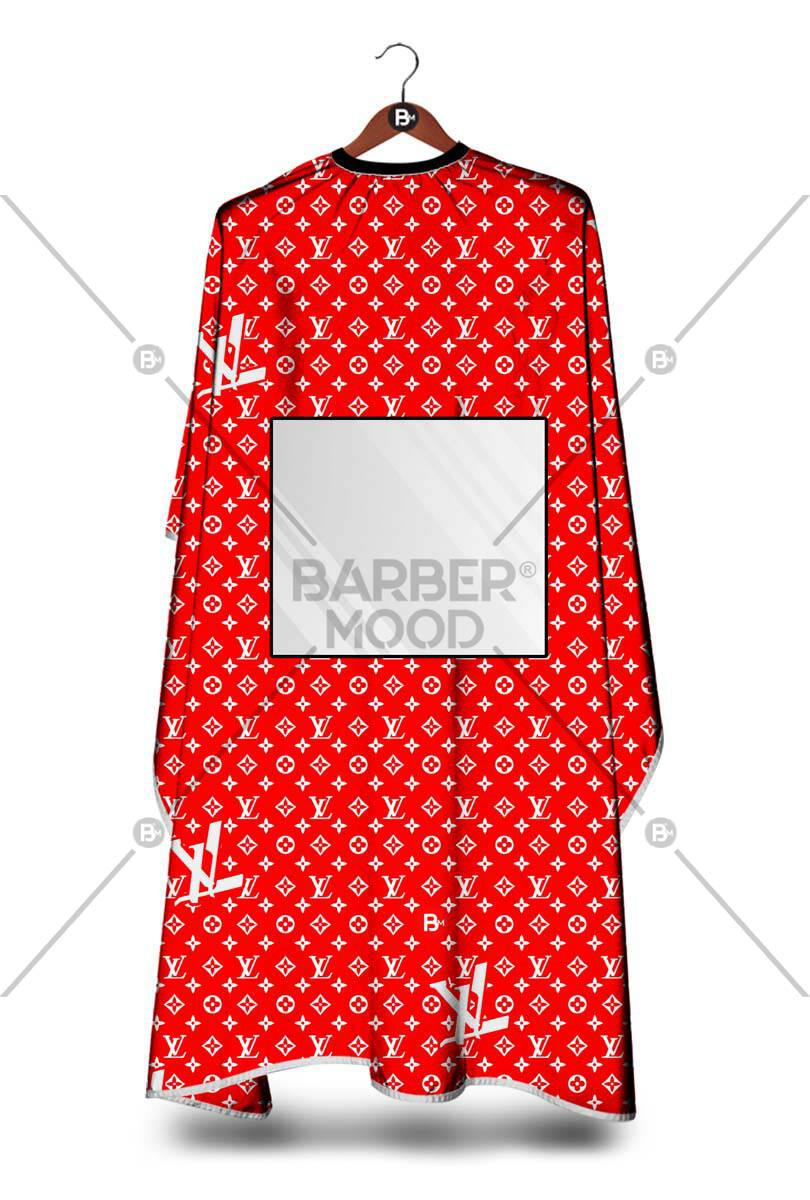 LV Kırmızı Dijital Baskılı Pencereli Penuar ürünü tüm müşterileriniz tarafından ilgi ile incelenebilecek, yumuşak dokusu ile antistatik özelliği sayesinde asla kıl, sakal veya tüy tutmayacaktır.