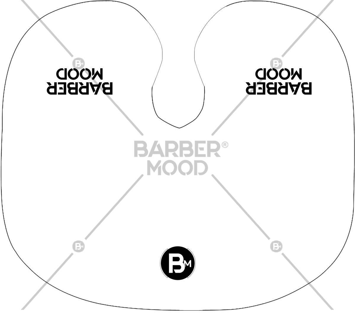 Barber Mood Beyaz Tarama Penuarı ürünü kuaför ve berberlerin en çok tercih ettiği bir tarama fön penuarıdır. Firma logonuz ile size özel baskılı penuar yapılabilir.