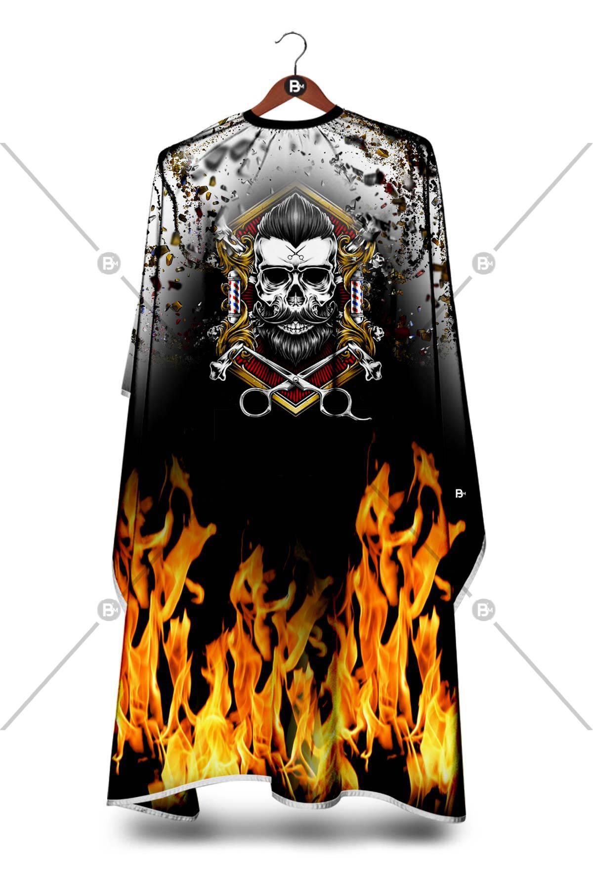 Skull Flame Penuar ürünü tüm müşterileriniz tarafından ilgi ile incelenebilecek, yumuşak dokusu ile antistatik özelliği sayesinde asla kıl, sakal veya tüy tutmayacaktır.
