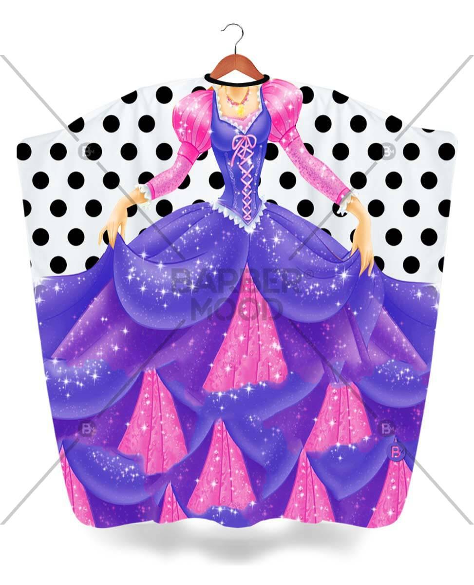 Purple Princess Çocuk Penuarı ürünü tüm müşterileriniz tarafından ilgi ile incelenebilecek, yumuşak dokusu ile antistatik özelliği sayesinde asla kıl, sakal veya tüy tutmayacaktır.