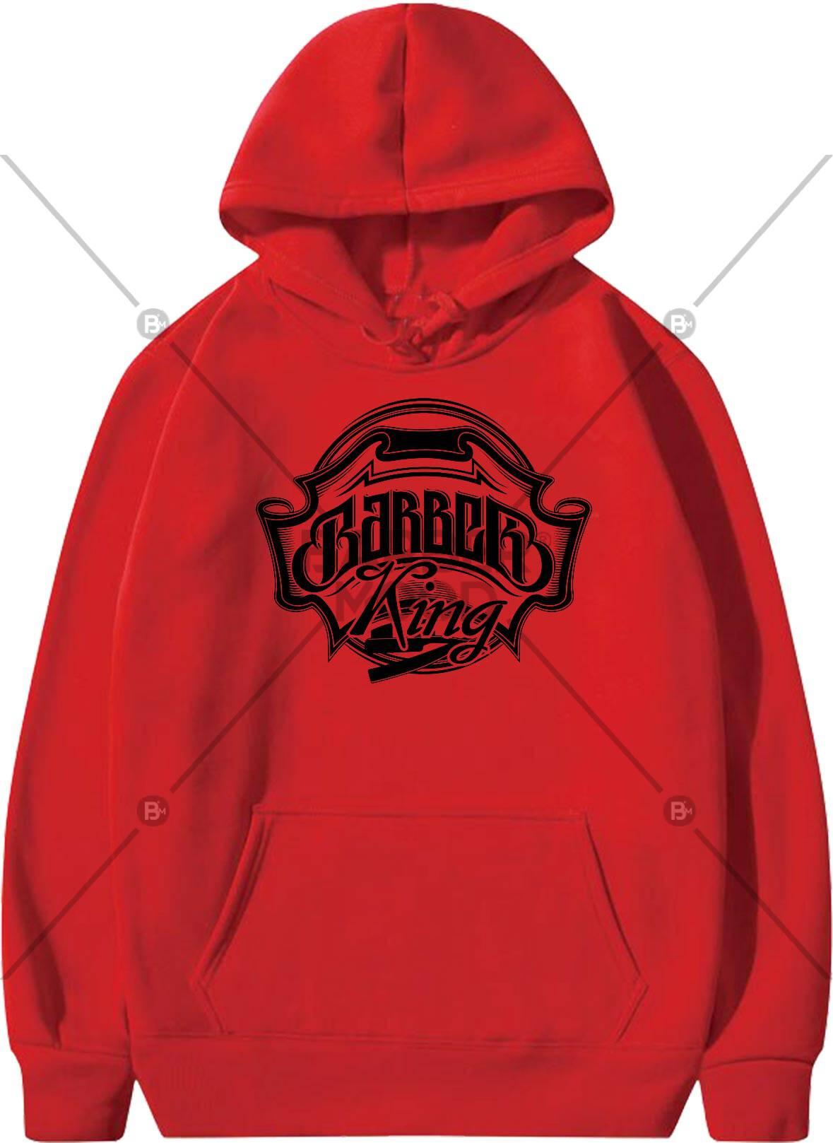 Kapşonlu Sweet Kırmızı ürünü kuaför ve berberlerin en çok tercih ettiği bir üründür. Firma logonuz ile baskı yapılabilir.