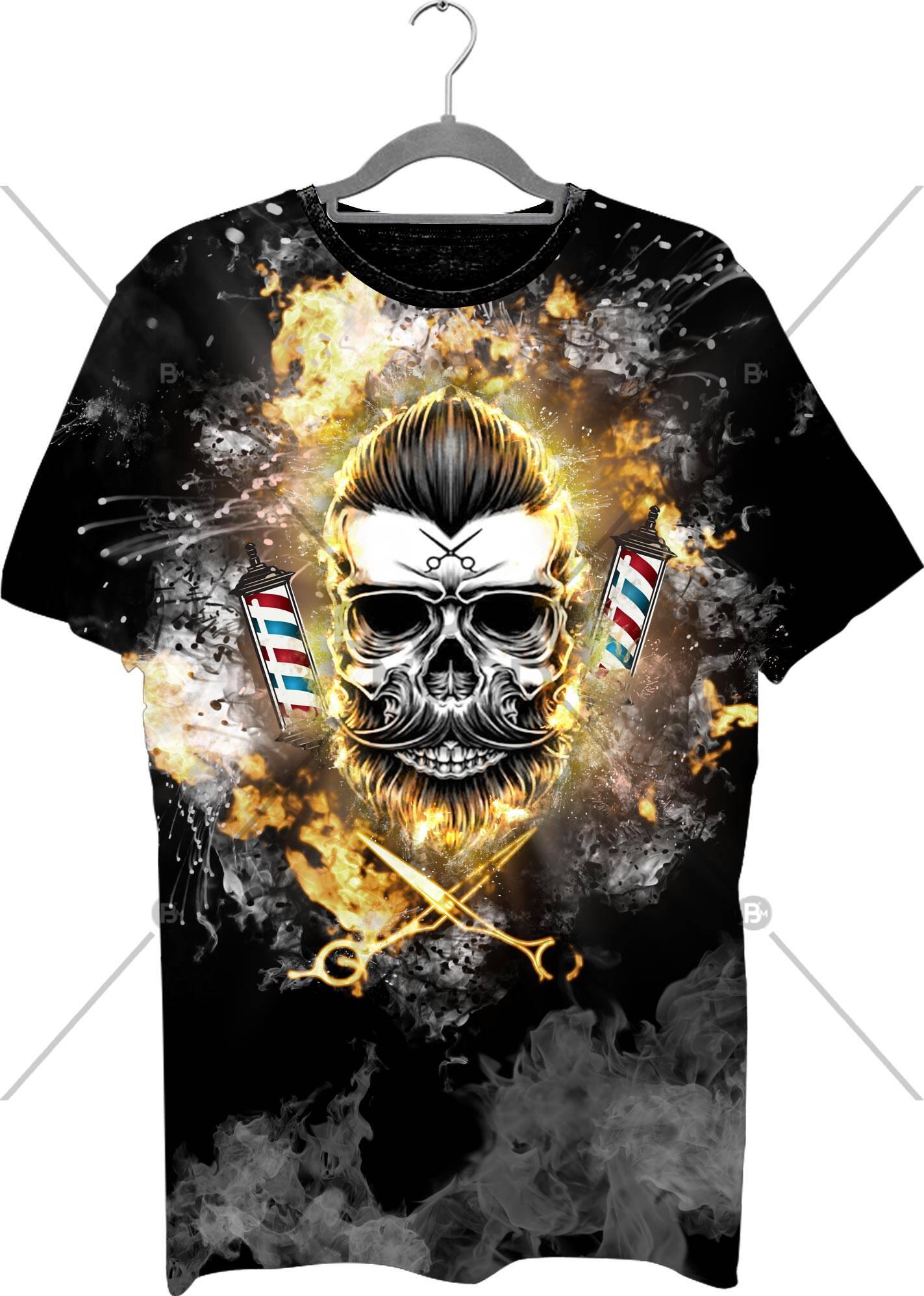 Full Baskılı Tişört - BM- Tshirt 11 ürünü kuaför ve berberlerin en çok tercih ettiği bir üründür. Firma logonuz ile baskı yapılabilir.