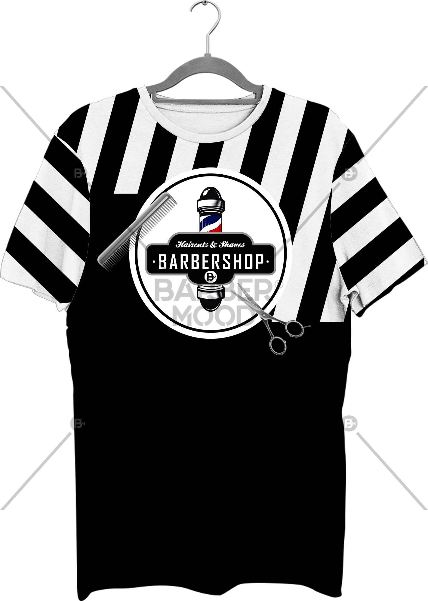 Full Baskılı Tişört - BM- Tshirt 12 ürünü kuaför ve berberlerin en çok tercih ettiği bir üründür. Firma logonuz ile baskı yapılabilir.