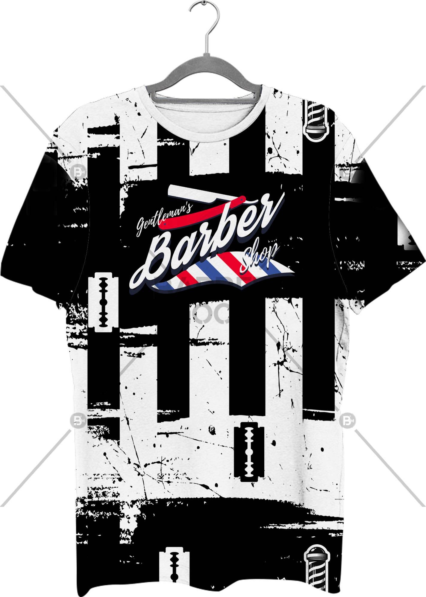 Full Baskılı Tişört - BM- Tshirt 13 ürünü kuaför ve berberlerin en çok tercih ettiği bir üründür. Firma logonuz ile baskı yapılabilir.