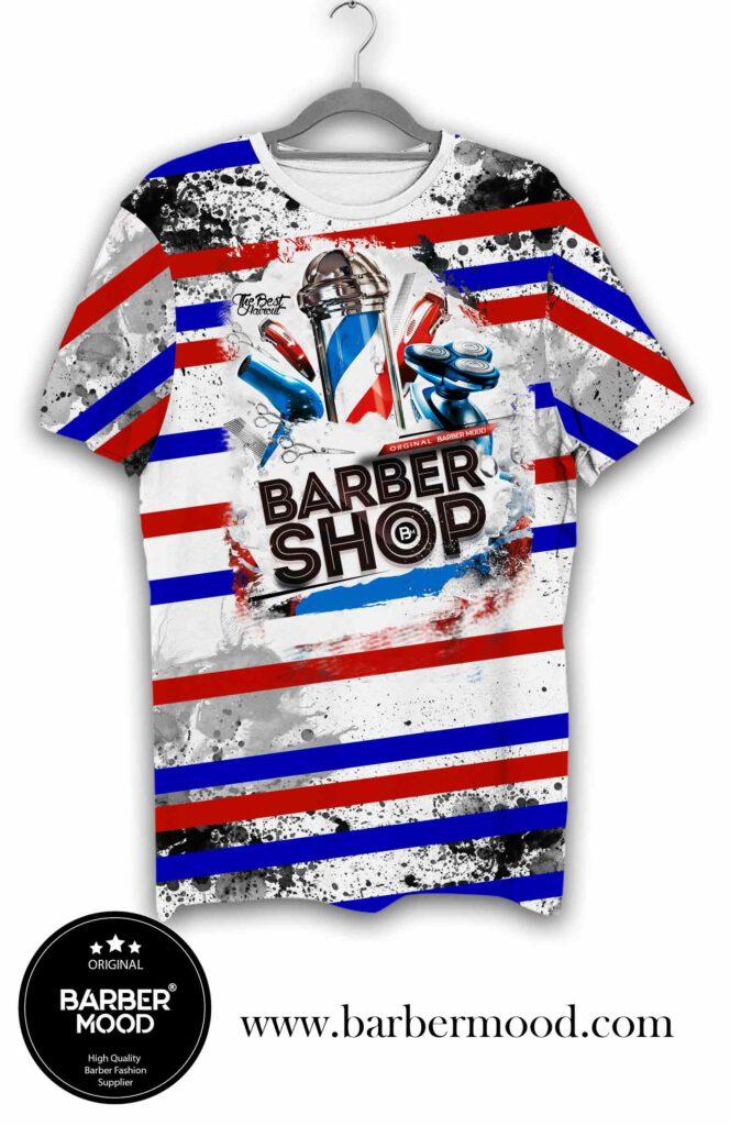 Barber Mood Barber Shop Tişört kaliteli kumaşı, rahat olması ve hava geçirmesinden dolayı yüksek oranda müşterilerimizin tercihi olmaktadır.